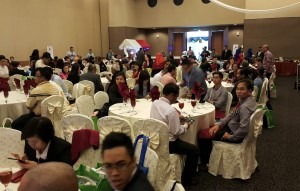 n Groot groep joernaliste van dwarsoor die wêreld het op Maleisië toegesak vir 'n toerisme indaba in die staat Kedah.