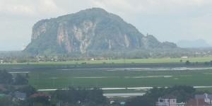 n Uitsig oor 'n plattelandse landskap in die staat/provinsie, Kedah in Maleisië waar Terrance onlangs besoek afgelê het.