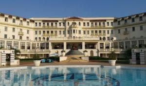 Die bekende Polana Hotel in Maputo is 'n baken in die hoofstad van Mosambiek wat dateer uit die koloniale tydperk onder Portugese bewind.