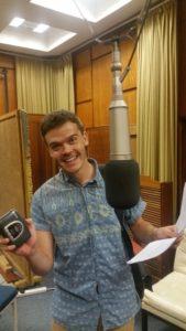 Wessel Pretorius(Eben) is die joernalis in die wendrama van die 2015 RSG/SANLAM Radiodrama Skrywerskompetisie; Vergifnis deur Charles J Fourie.
