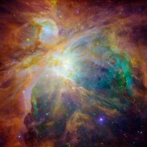 Só het NASA die geboorte en sterfte van sterre in die Orion nebula waargeneem.