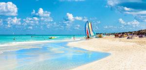 Varadero strand in Kuba