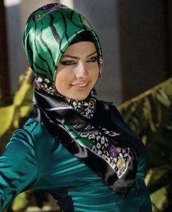 Veelkleurige hijab