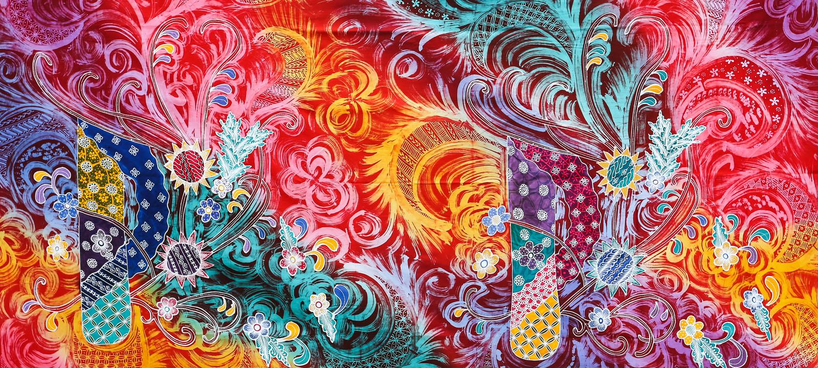 Lees meer oor batik as kunsvorm: https://en.wikipedia.org/wiki/Batik