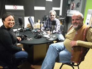 Michelle Boonzaaier, Jean en Bertus van Niekerk in die ateljee