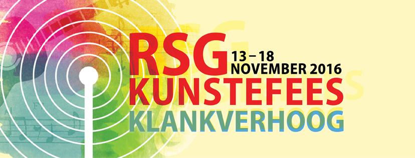 Ons kondig aan: RSG Kunstefees 2016