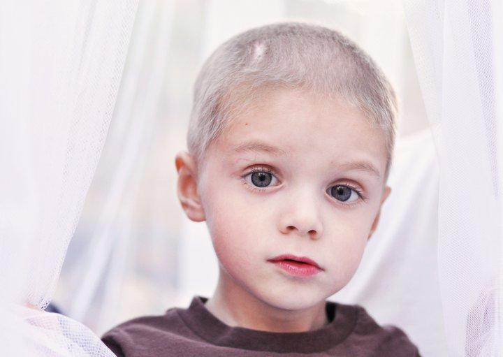 As 'n kind kanker kry