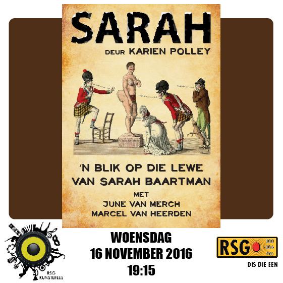Uitsonderlike drama oor Sarah Baartman