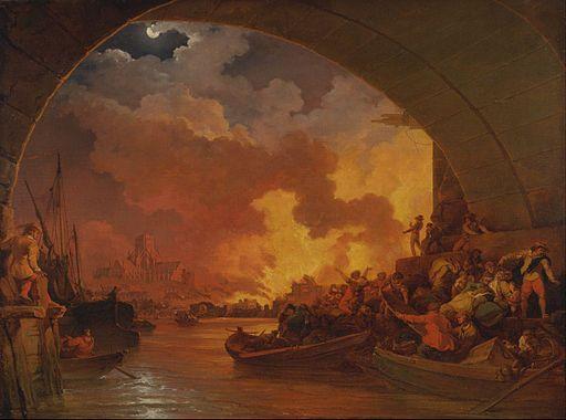 London gaan 350 jaar later weer brand – kyk Sondag regstreeks