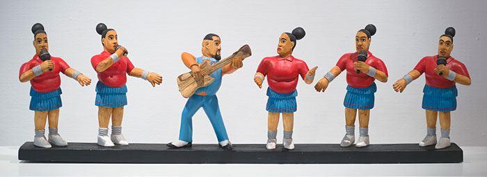 Kunstenaar van die dag: Collen Maswanganyi (hout/beeldhouwerke)