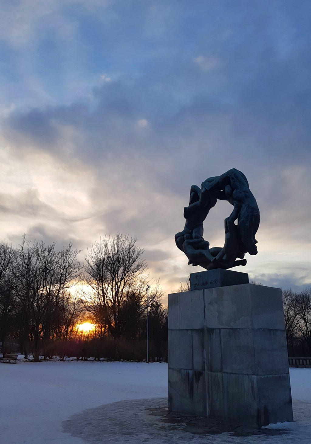 Kyk dié besonderse park in Oslo
