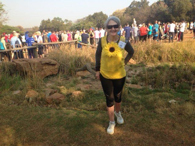 Ons 'geel' DDN-stapper van die week is Elize Heath