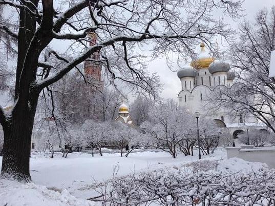 Moskou se grootste sneeustorm in beeld