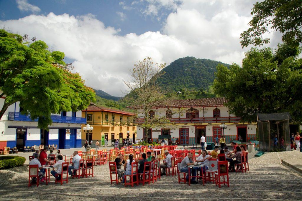 Die sjarme van Colombië