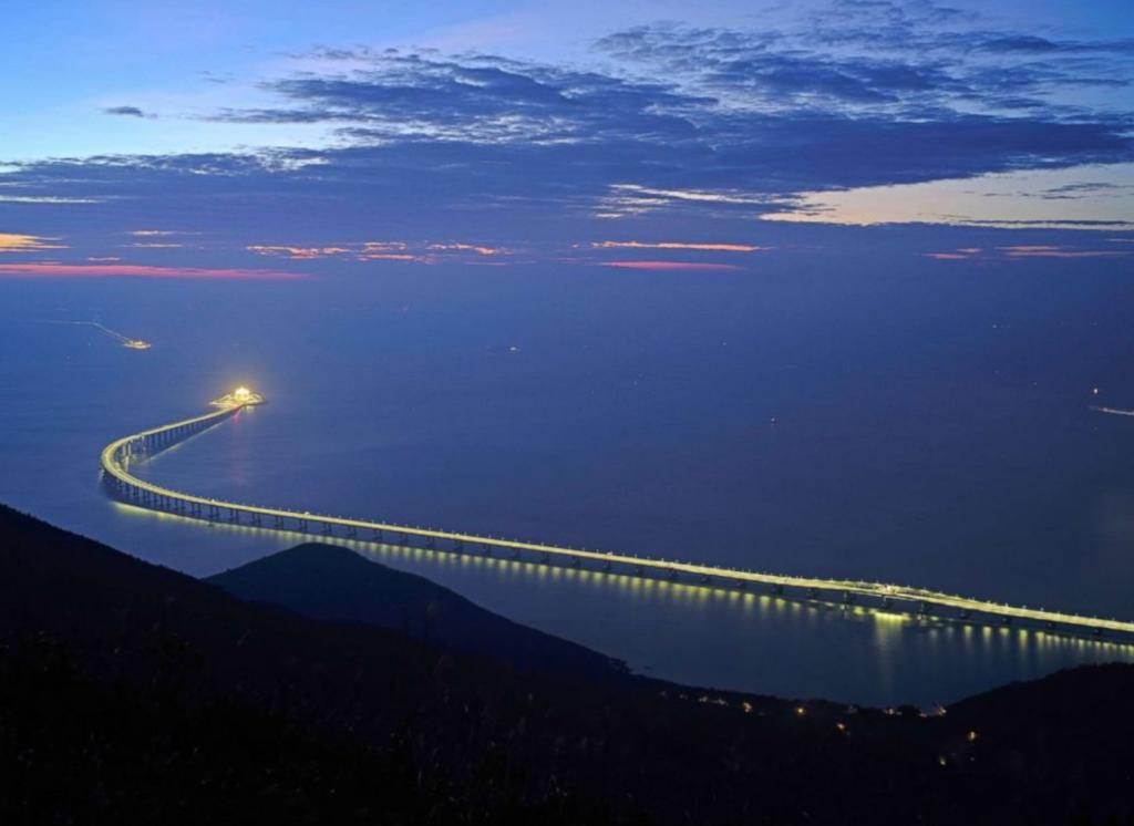 China bou langste brug in wêreld