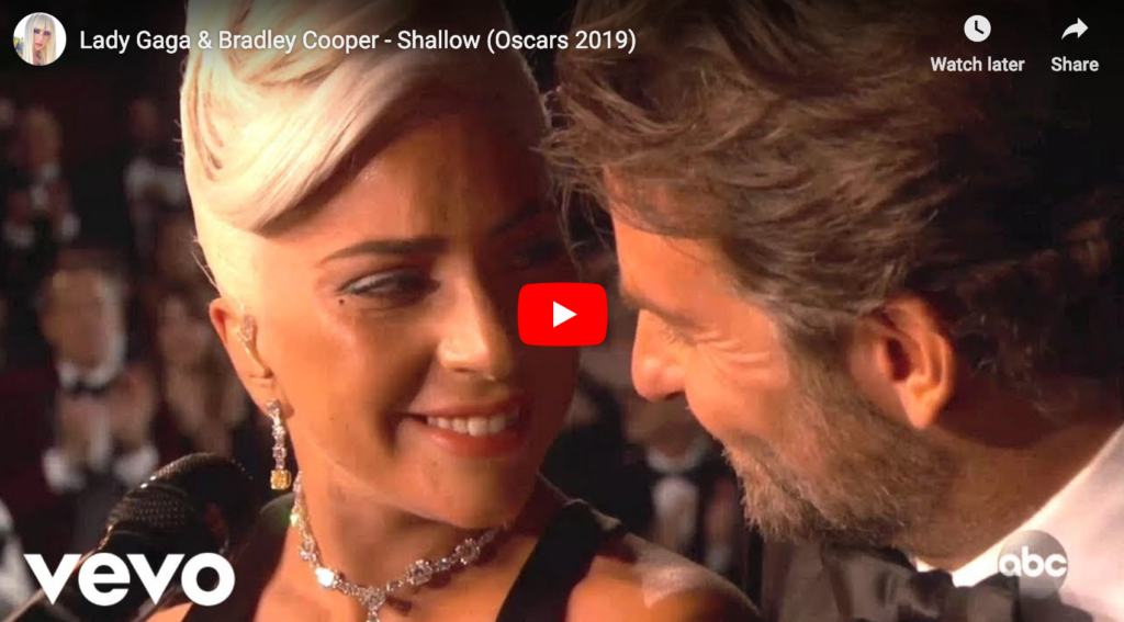 Oscars 2019: Lady Gaga en Bradley Cooper sing Shallow