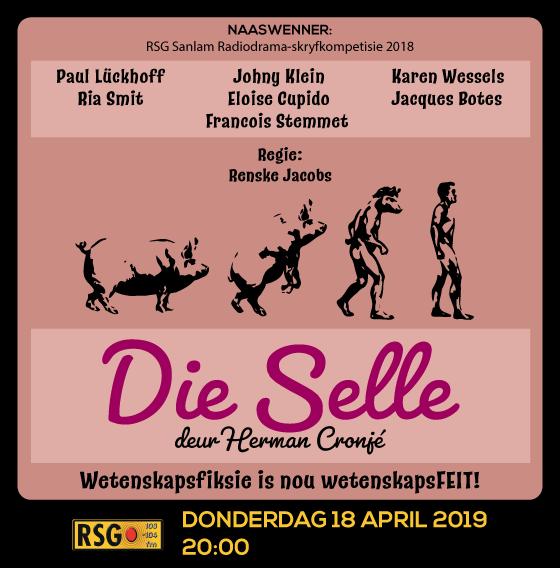 'Die Selle' = heerlike klug met wetenskapfiksie-krulstertjie