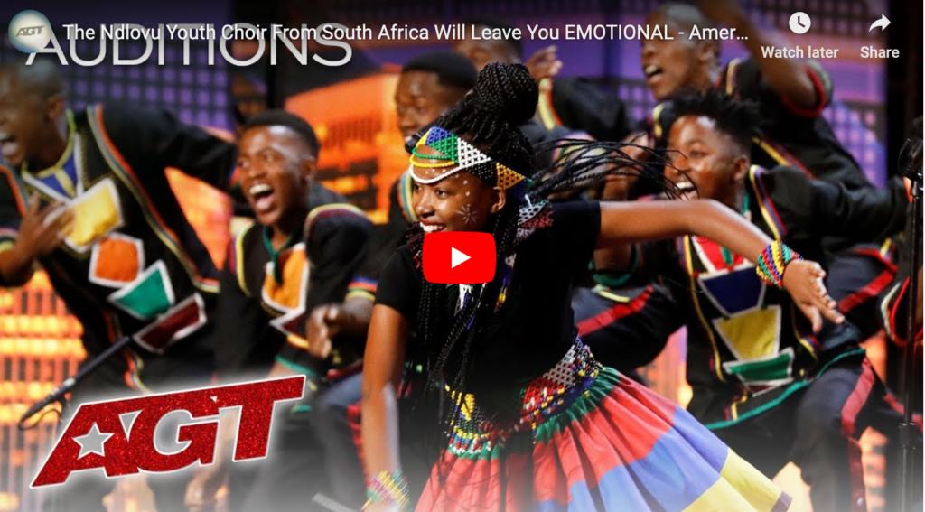 Ndlovu jeurgkoor bekoor op America's Got Talent