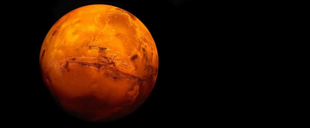 Waar kom die metaangas op Mars vandaan?