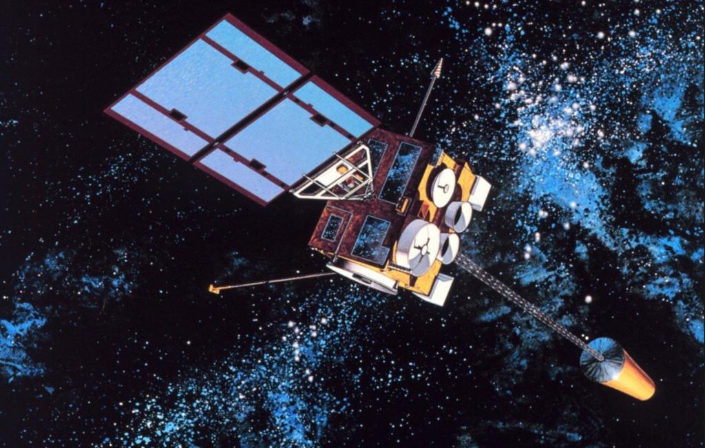 Hoe kom 'n satelliet in 'n wentelbaan?
