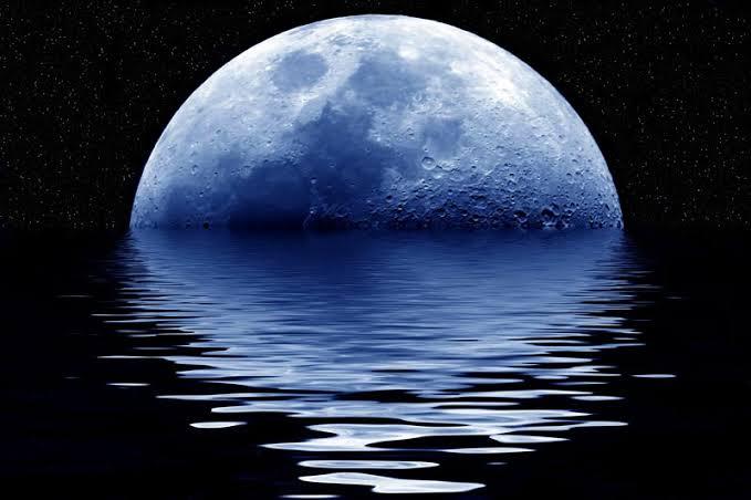Die maan beïnvloed oseane só