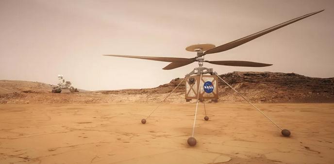 Windspoed op Mars belangrik vir Mars-helikopter