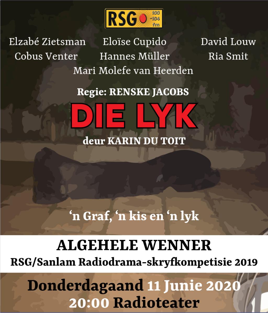 Luister weer: 'Die Lyk' is pure donker komedie