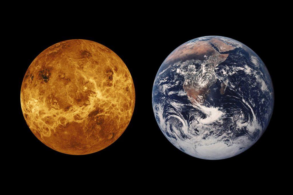 Lewe op Venus en nuwe ruimte-kamera