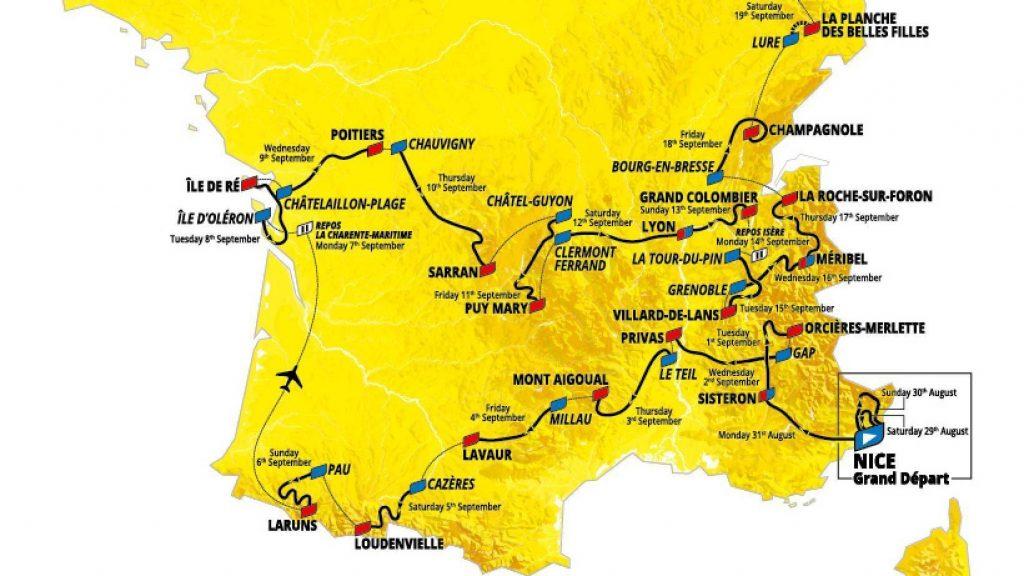 Die wetenskap van fietsry in die Tour de France