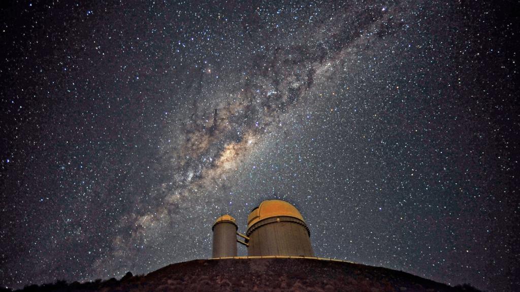 Kleiner sterrestelsels naby die Melkweg